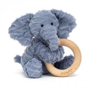 Jellycat - FWR2E - Anneau de dentition éléphant Fuddlewuddle (471854)