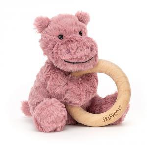 Jellycat - FWR2H - Anneau de dentition hippopotame Fuddlewuddle (471858)