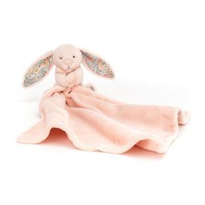 Jellycat - BBL4BLU - Doudou lapin blush Blossom Bea (471870)