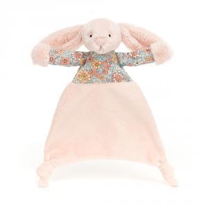 Jellycat - BBC4BL - Doudou plat lapin blush Blossom Bea (471872)