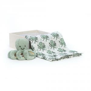 Jellycat - ODY2SET - Coffret cadeau poulpe Odyssey (471896)
