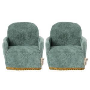 Maileg - 11-1408-00 - Chaise - 2 pack , Souris (472002)