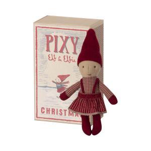 Maileg - 14-1490-00 - Pixy Elfie dans la boîte d'allumettes (472074)