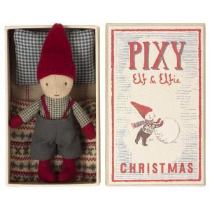 Maileg - 14-1491-00 - Pixy Elf dans la boîte d'allumettes (472076)