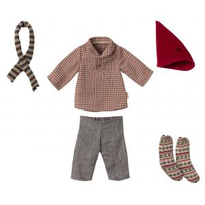 Maileg - 14-1703-01 - Vêtements de Noël, Souris moyenne - Garçon (472094)
