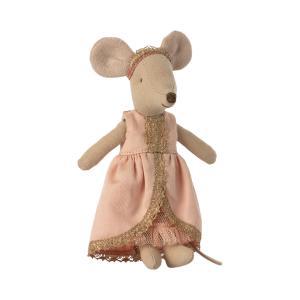 Maileg - 16-1735-02 - Robe princesse pour grande soeur souris - Rose (472140)