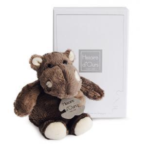 Histoire d'ours - HO1059 - Hippo - taille 14 cm - boîte cadeau (92395)
